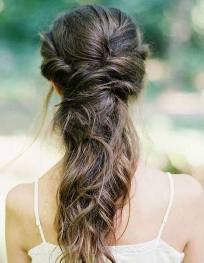 Coiffures Faciles Cheveux Longs. 50 coiffures cheveux longs. coiffure cheveux mi longs facile et ...