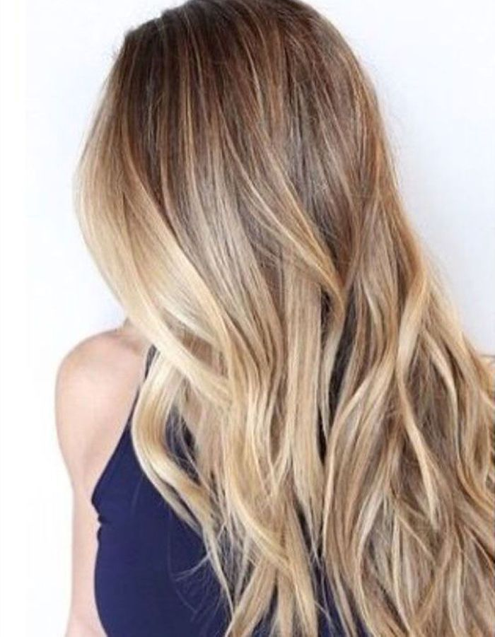 Cheveux longs balayage - Coiffure cheveux longs  des coupes de cheveux longs pour un look canon ...