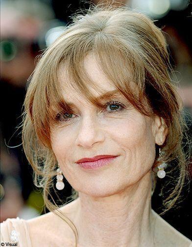 Isabelle Huppert 17mai - Cannes 2010  coiffures des stars - Elle