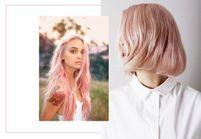 Le blond fraise : la coloration candy qui séduit les filles