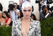 La coiffure argenté de Cara Delevingne au Met : un coup de gueule contre les stéréotypes