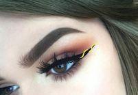 Eye-liner ruban, le nouveau make-up qui habille le regard