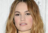 Lily James, égérie du nouveau parfum My Burberry Black