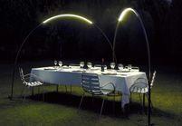 15 façons d'éclairer un dîner dans le jardin