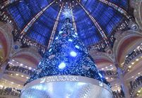 Illuminations et vitrines de Noël à Paris