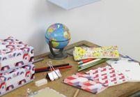 L'inspiration déco : la boîte Birchbox x Papier Tigre
