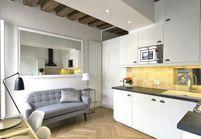 Relooking d'un petit appartement au coeur du Marais