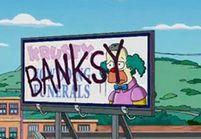 Les Simpson se font graffer !