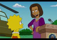Michelle Obama en guest-star dans les Simpson !
