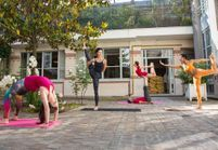 #ELLEBeautySpot : les ateliers gratuits du Tigre Yoga Club aux Galeries Lafayette le 26 mars