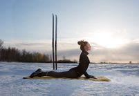 Le snowga : le nouveau yoga qui fait frissonner