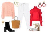Comment porter le jean blanc en hiver ?