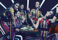 Exclu : la nouvelle army de mannequins de la campagne Balmain