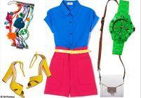 Le look de la semaine : preppy color