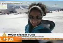 Raha Moharrak : une Saoudienne de 25 ans au sommet de l'Everest