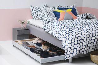 5 astuces pour optimiser l'espace sous le lit
