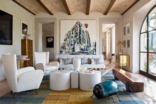 Visite privée d'une maison familiale dédiée à l'art