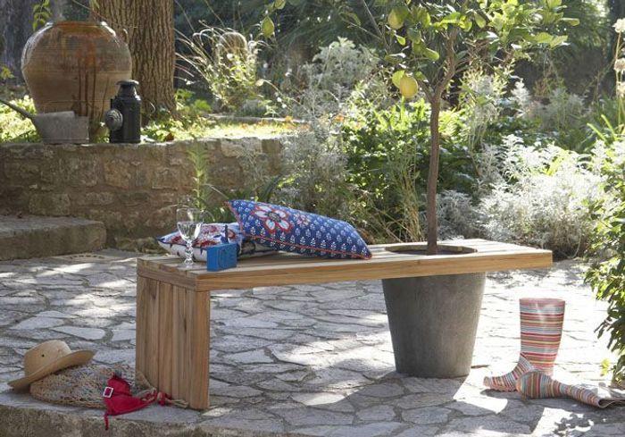 50 meubles de jardin shopper elle d coration. Black Bedroom Furniture Sets. Home Design Ideas