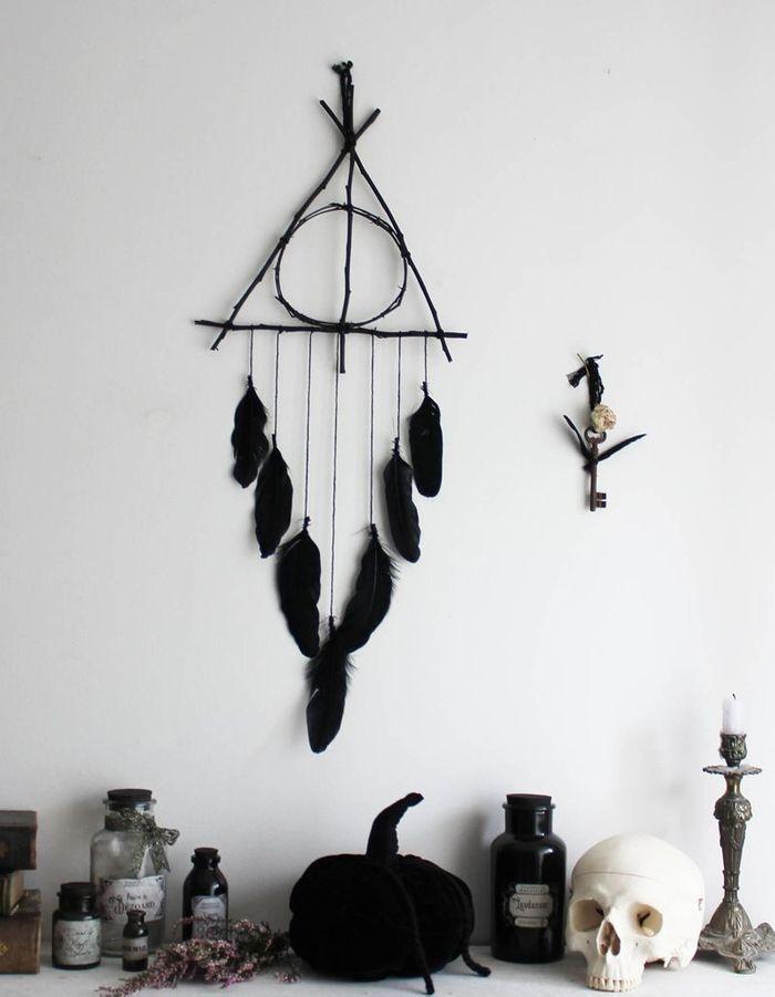 Décoration Halloween : le mix black & white