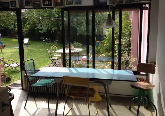 Maison familiale à la déco vintage en Bretagne