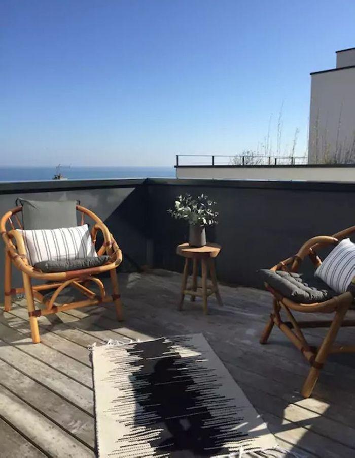 Villa avec vue sur la mer en Bretagne