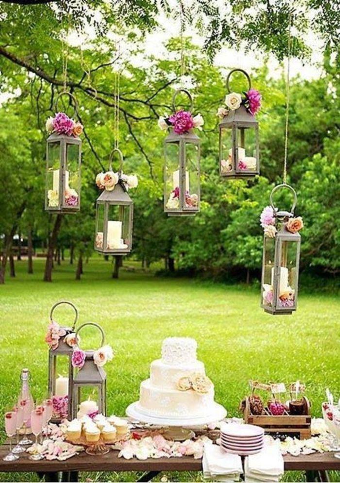 Favoris Mariage champêtre candy bar - Et si on organisait un mariage  BT91
