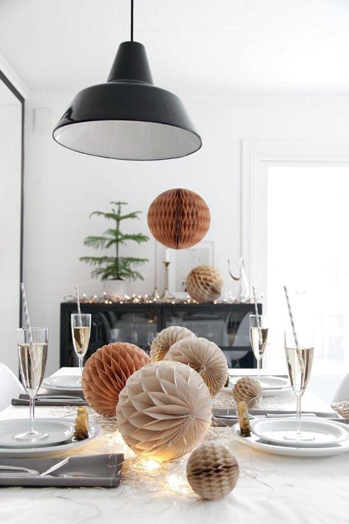 Une table de fête design