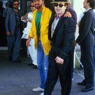 Avec Elton John