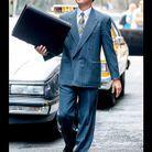 "Leonardo DiCaprio a l'air de s'amuser sur le tournage de ""Wolf of Wall Street"""