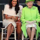 La duchesse de Sussex et la reine d'angleterre