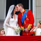 Will & Kate au Balcon de Buckingham Palace
